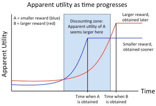 hyperbolic discounting-present-bias